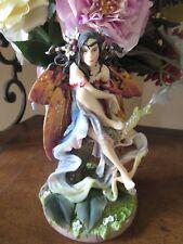 40% off SALE! Linda Ravenscroft DECEMBER GLOW FAIRY figurine by Nemenis Now