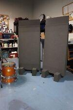 Acoustic Foam GoBo's 2 - 2' x 4' Next dMASS Panels. feet, extenders Sound Proof?