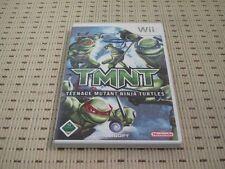 Tmnt teenage mutant ninja turtles pour nintendo wii et wii u * OVP *