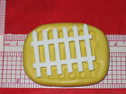 Fence Silicone Mold Cake Chocolate Resin Polymer Clay A551 Soap Fondant