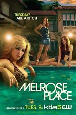 MELROSE PLACE T.V. SERIES POSTER V.RARE Promo TUESDAYS ARE A BITCH! Style