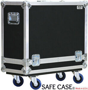 ATA Road Case Fender Reissue 65 Deluxe Reverb Safe Case- No Top Handle/ Non Lock