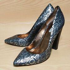 Cynthia Vincent Snake Print Pumps Heels Womens Shoes 8.5