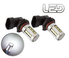 2 ampoules HB3 9005 P20D feux jour diurne via Brouillard 18 LED Lens Blanc Light