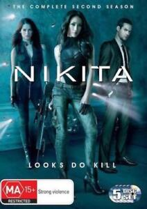 NIKITA (COMPLETE SEASON 2 DVD SET - SEALED + FREE POST)