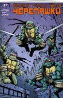 Teenage Mutant Ninja Turtles #1 (IDW) Russian Rare Foreign Edition Variant