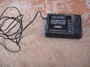 JR R600 6 Channel FM Receiver 72mhz