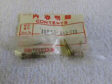 """70-75 HONDA QA50 72-75 Z50A MINI TRAIL 50 CARBURETOR SCREW SET """"A"""" 16016-045-610"""