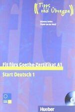 FIT F.GOETHE-ZERTIFIKAT STAR 1.(LIBRO + CD).(NIVEAU A1). ENVÍO URGENTE (ESPAÑA)