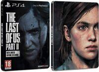 NEW | The Last of Us Part 2 II | Limited Edition Steelbook (JOEL & ELLIE) | PS4