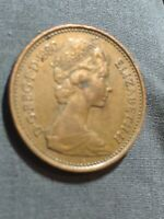 Rare 1p NEW PENNY 1980 coin