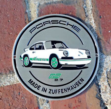 Official Porsche 911 Carrera RS 2.7 Grill Badge Plakette - 1973 numbered edition