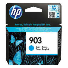 ORIGINAL HP 903 cian cartucho de tinta para HP Officejet 6960 & 6970 (t6l87ae)