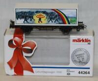 Marklin 44264 HO Scale SOS Kinderdorf 1998 Birthday Container Wagon Car