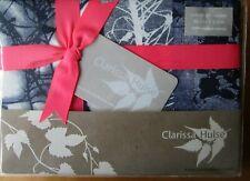 CLARISSA HULSE ONE Oxford Pillowcase New INDIGO PATCHWORK
