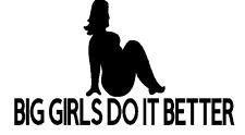 big girls do it better  sticker vinyl funny decal