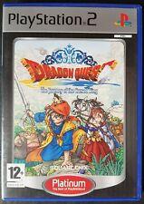 Dragon quest el periplo del rey maldito (PS2) PAL UK: completa-En muy buena condición