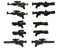 LEGO Star Wars Guns Blaster Rifle Clone Trooper Rebel Stormtrooper Weapon 10 Pk