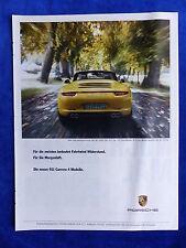 Porsche 911 Carrera 4 - Werbeanzeige Reklame Advertisement 2012 __ (173
