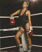 UFC Sexy Ring Girl Vanessa Hanson Autographed Signed 8x10 Photo COA
