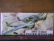 1/72 Airfix FOCKE WULF Fw 189 Luftwaffe attack *vintage 1967 1st issue kit OOP