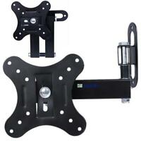 Tilt Swivel LCD LJS Plasma Flat Panel TV Wall Mount Bracket 14 19 20 22 24 26 JS