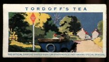 More details for trade card, john tordoff & son, safety first, 1926, diamond sign, #15
