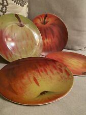 John Derian Target 4pk Melamine Salad Plate Set Apple Red