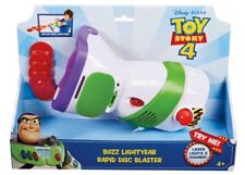 Disney Pixar Toy Story 4 Buzz Lightyear Rapid Disc Launcher NEW