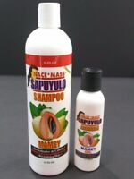 Nace Mass Sapuyulo Aceite Mamey Oil & Shampoo Hair Growth Shine Strength Zapote
