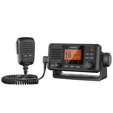 Garmin VHF 110 Marine Boat VHF Radio Fixed Mount Class D Black 010-01653-00