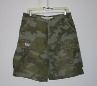 2006 Vintage Zoo York Camo Cargo Shorts sz 31 USED