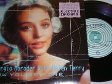 "7"" - Giorgio Moroder & Helen Terry Now you´re mine (Electric Dreams) - UK # 0464"