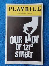 Our Lady Of 121st Street - Union Square Theatre Playbill - June 2003 - Feldman
