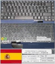 Teclado Qwerty Español FUJITSU AMILO A1640 A1645 MP-03086FE0-360 71-UG85094-00