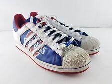 Adidas Original Detroit Pistons NBA Superstar Sneaker Shoes Mens Size 13