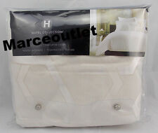 Hotel Collection Verve FULL / QUEEN Duvet Cover Ivory