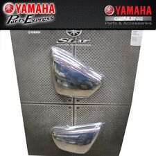 GENUINE YAMAHA VIRAGO 700/750/1000/1100 CHROME SIDE COVERS ABA-42X09-00-10