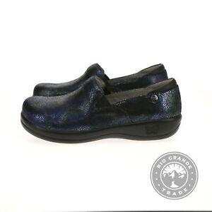NEW Alegria Women's Keli Professional Flat Shoes in Aura Leather - 11 M US