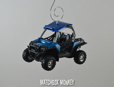 Polaris RZR 900 ATV Side x Side Custom Christmas Ornament 1/32 Gator Rhino by
