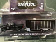 Greenlight  HITCH & TOW  Graveyard Carz 2016 Dodge Ram 2500 Pickup   w/  trailer