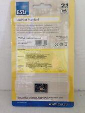 +++ ESU 53614 LokPilot Standard DCC Decoder, mit 21MTC-Schnittstelle nach NEM660
