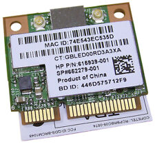 HP 802.11 b-g-n WLAN Combo Bluetooth 2.1 NEW 615939-001