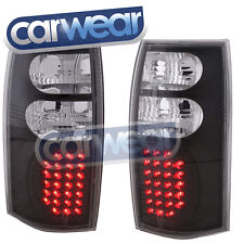 LED BLACK ALTEEZA TAIL LIGHTS HOLDEN COMMODORE VT VX VU VY VZ UTE WAGON