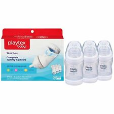 4-Pack Playtex Baby Ventaire Anti Colic Baby Bottle, BPA Free, 6 Ounce- 3 Count