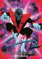 NIGHTCRAWLER / 1992 Marvel Masterpieces BASE Trading Card #62 Art by JOE JUSKO