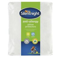 Silentnight Anti Allergy Washable Pillow Protector Pair 2 x Pack