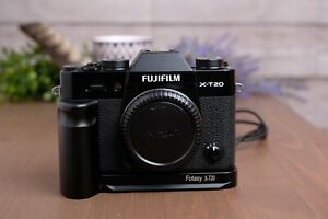 Fujifilm X-T20 24.3MP Mirrorless Digital Camera - Black (Body Only) with Grip