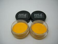 MAKE UP FOR EVER 2 AQUA CREAM WATERPROOF EYESHADOW 24 MATTE YELLOW, FULL SIZE