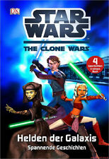 Fachbuch Star Wars™ The Clone Wars™, Helden der Galaxis, 4 Geschichten, NEU